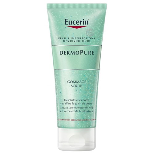 GOMMAGE PEAUX A IMPERFECTIONS 100ML DERMOPURE EUCERIN