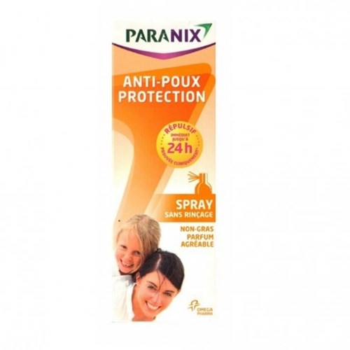 REPULSIF POUX SPRAY PREVENTIF 100ML PARANIX