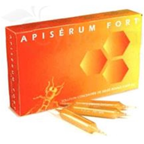 Apiserum FORT Lightbulb oral, dietary supplement containing royal jelly and honey. - Bt 24