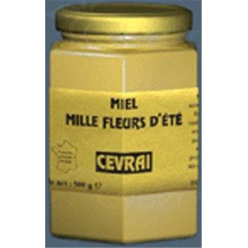 REAL EST, Honey Millefleurs summer. - 500 g pot