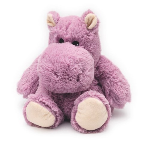HIPPO Plush Hot Water Bottle (Microwavable)