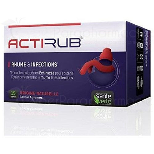 ACTI'RUB colds infections 15 bags