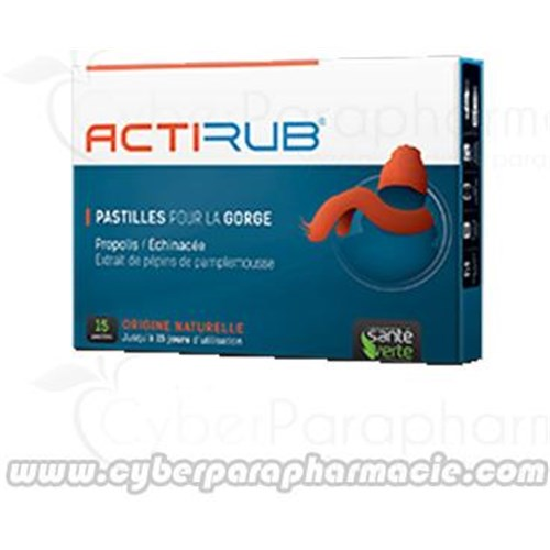 ACTI'RUB throat lozenges 15