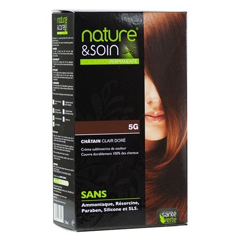 NATURE & SOIN coloration 5G chatain clair doré