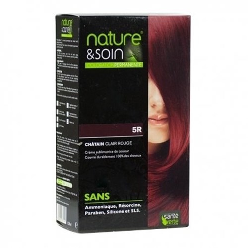 NATURE & SOIN coloration 5R chatain clair rouge