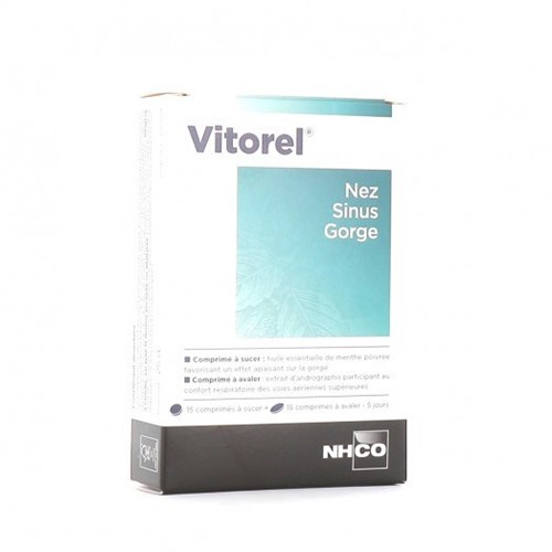 Vitorel nez, sinus, gorge