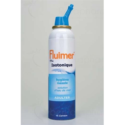 FLUIMER ISOTONIC ADULT nasal solution isotonic seawater - 125 fl oz