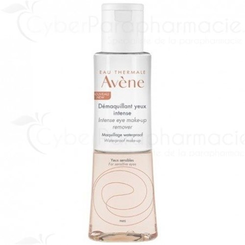 AVENE DEMAQUILLANT YEUX INTENSE MAQUILLAGE WATERPROOF YEUX SENSIBLES 125ML