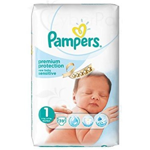 PAMPERS New Baby Sentitive, 1 / 2-5 Kg