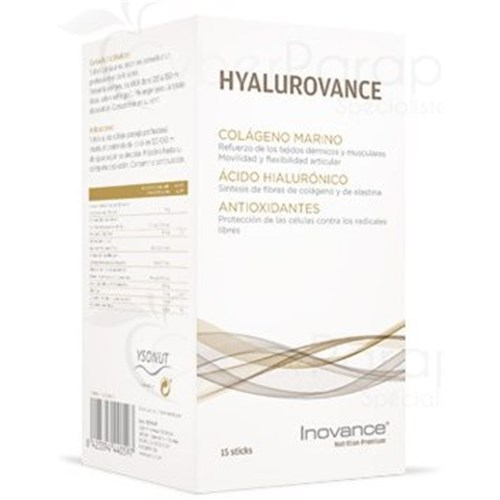 HYALUROVANCE, Maintenance of Protein Tissues: Skin - Muscles - Cartilage, 15 sticks