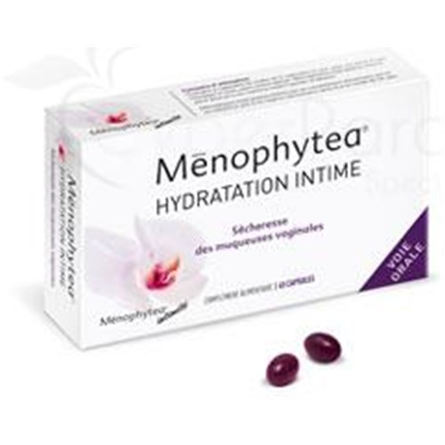 Ménophytea HYDRATION INTIMATE, Capsule dietary supplement referred intimate. - Bt 40