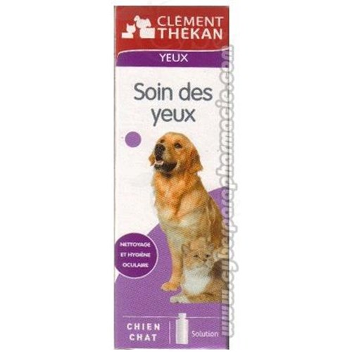 Clement Thekan EYES CARE Eyes hygiene dog cat