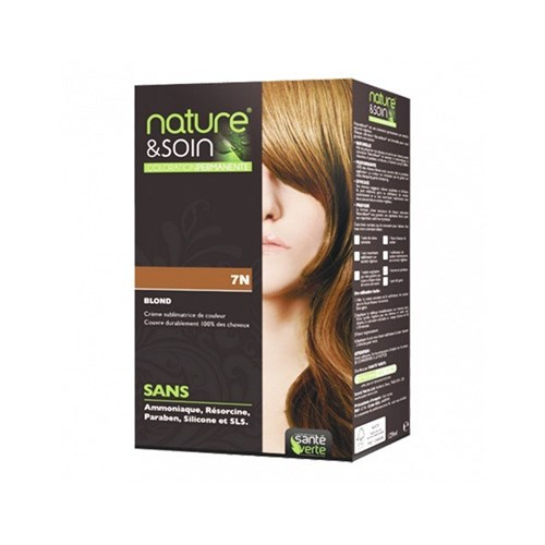 NATURE & SOIN coloration 7N blond