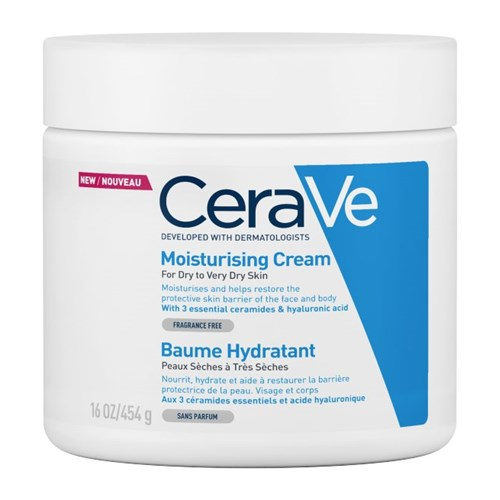 BAUME HYDRATANT PEAUX SECHES A TRES SECHES 454G CERAVE