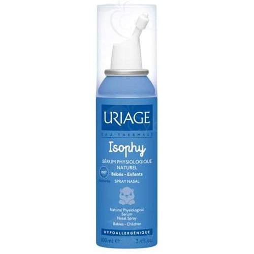 ISOPHY, Spray nasal, sérum physiologique naturel. - spray 100 ml
